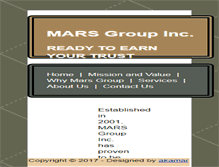 Tablet Preview of mars-group.net